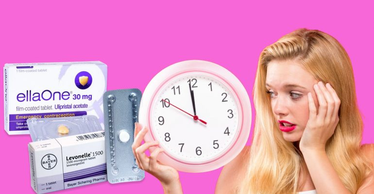 Morning after pill banner